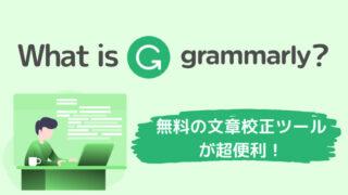 Grammarly(グラマリー)使い方